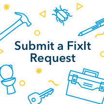 submit a fixit request button