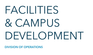Facilities and Campus Development as part of the Division of Operations